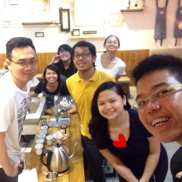 respite coffee cookies people team