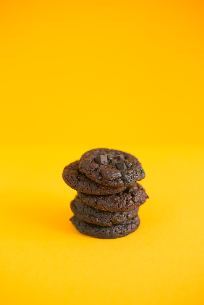 respite chewy and chunky dark choco chunk cookies